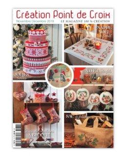 CREATION POINT DE CROIX 2019年11/12月号 クロスステッチ洋書
