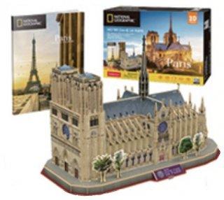 3D パズル パリのノートルダム大聖堂