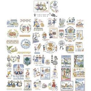 クロスステッチ図案 A special story of Brittany(ブルターニュの特別な物語)