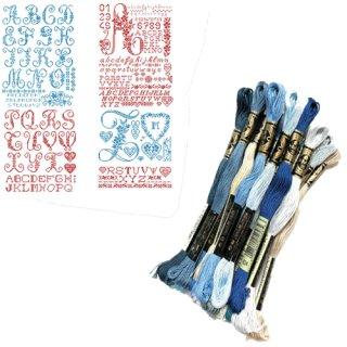 レブロドゥーズパリジェンヌ クロスステッチ用刺繍糸