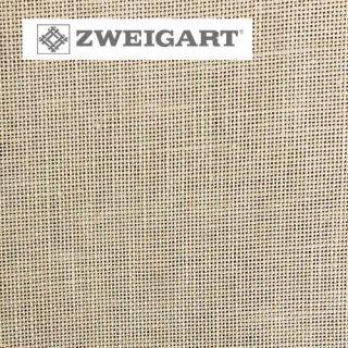 【ドイツ】ツバイガルト(ZWEIGART)クロスステッチ用生地 カシェル リネン28カウント ベージュ(24x33cm)