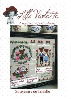 Lilli Violet リリーバイオレット 図案 Souvenirs de Famille  家族の思い出