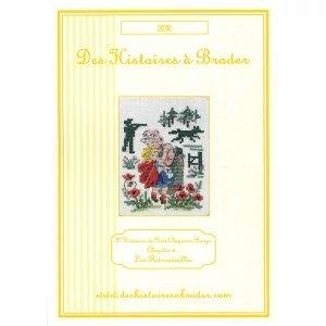 L'Histoire du Petit Chaperon rouge 'Les Retrouvailles' (赤ずきん『再会』) クロスステッチ 図案