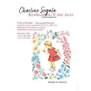 フランス Charline Segala 刺繍キット 甘い春