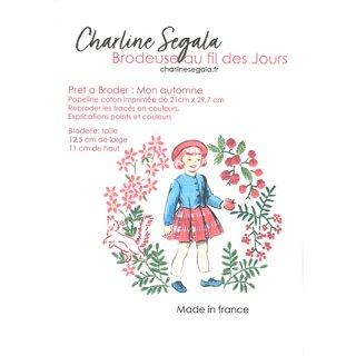 フランス Charline Segala 刺繍キット私の秋
