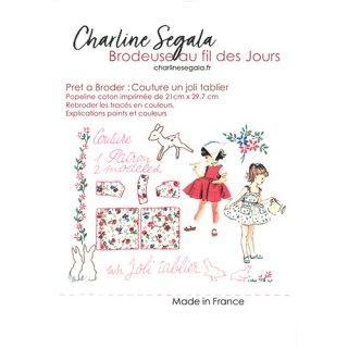 フランス Charline Segala 刺繍キット お花に水をあげましょう