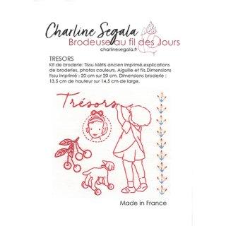 フランス Charline Segala 刺繍キット 私の宝物