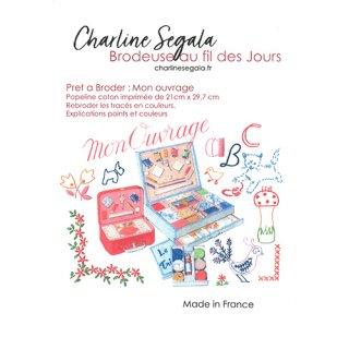 フランス Charline Segala 刺繍キット 私の刺繍道具