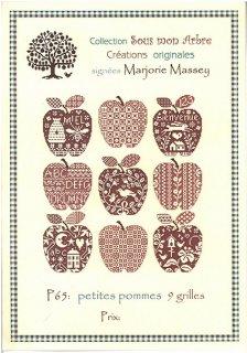 クロスステッチ図案 Petit Pommes( 小さなリンゴ)