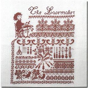 《最新作》クロスステッチ図案 The Lacemaker