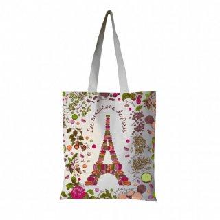 ショッピングバッグ パリのマカロン