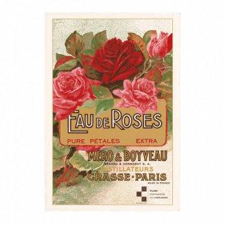 """フランス ランチョンマット """"Eau De Roses""""<br>"""