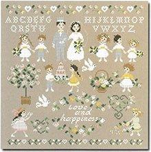 《最新作》クロスステッチ図案 The Wedding (結婚式)