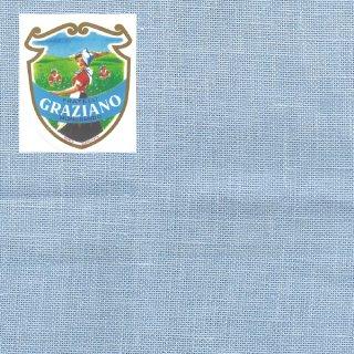 Graziano グラチアーノ クロスステッチ生地 リネン28カウント ブルー(約50x85cm)