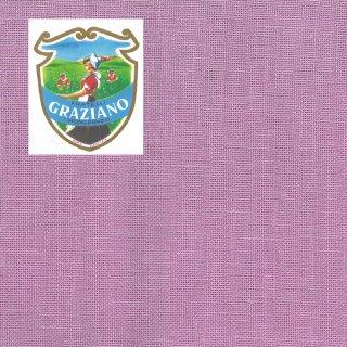 Graziano グラチアーノ クロスステッチ生地 リネン28カウント リラ (約24cm×44cm)