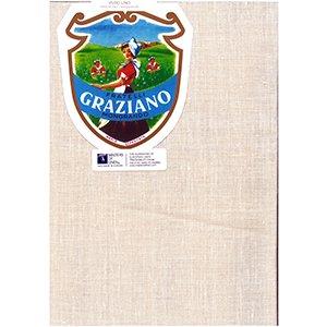 Graziano グラチアーノクロスステッチ生地 リネン28カウント モカベージュ(約50cm×85cm)