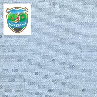 Graziano グラチアーノ クロスステッチ生地 アイーダ14カウント ブルー カット布(約50x180cm)