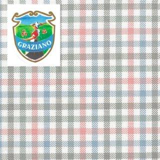 クロスステッチ生地Graziano アイーダ18カウント パステルチェックカット布(約50x180cm)