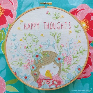 Happy Thoughts (幸せな想い) 刺繍キット<br>