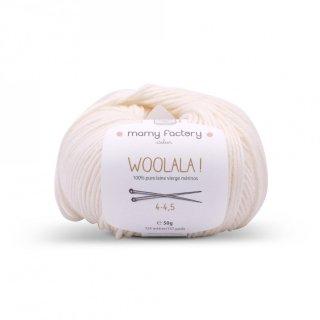 フランス マミーファクトリー(Mamy Factory) オーガニック毛糸 Woolala ホワイト