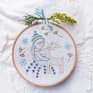 Golden Deer (ゴールデンディアー) 刺繍キット<br>