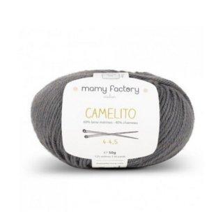 フランス マミーファクトリー(Mamy Factory) オーガニック毛糸 Camelito グレー