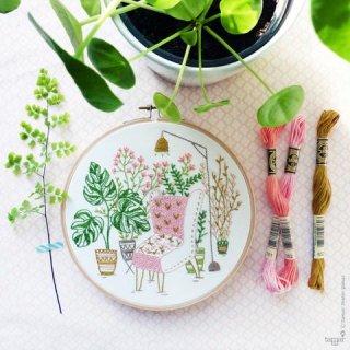 Urban Jungle(都会のジャングル)刺繍キット