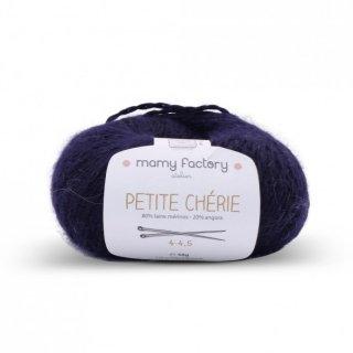 フランス マミーファクトリー(Mamy Factory) オーガニック毛糸 Petite Cherie ネイビー