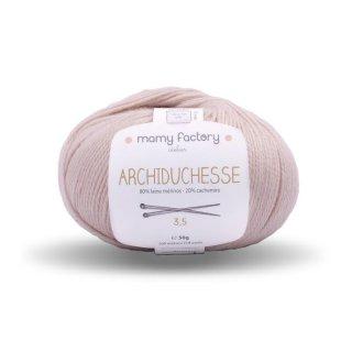 フランス マミーファクトリー(Mamy Factory) オーガニック毛糸 Archiduchesse ベージュ