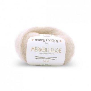 フランス マミーファクトリー(Mamy Factory) オーガニック毛糸 Merveilleuse ベージュ