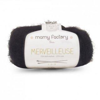 フランス マミーファクトリー(Mamy Factory) オーガニック毛糸 Merveilleuse ブラック