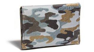 せと刺しゅう カードケース Camouflage カモフラージュ 名刺入れ