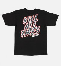 T-SHIRT KILL ALL TIRES GT BLACK