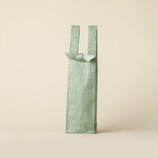 ワインバッグ  緞子 / 浅葱 珠光緞子