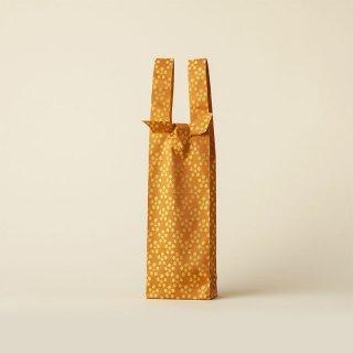 ワインバッグ  緞子 / オレンジ 利休梅