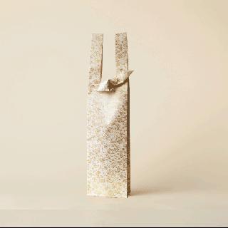 ワインバッグ  金襴 / 線上り 小花蔓草