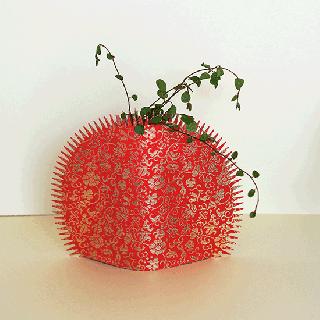 花なり(小)金襴 / 宝入一重蔓小牡丹