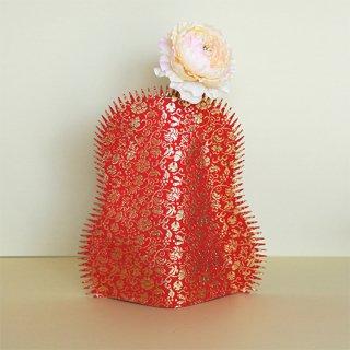 花なり(大)金襴 / 宝入一重蔓小牡丹