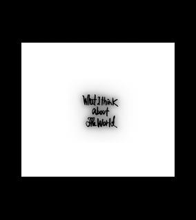 照井利幸『What I think about the world』[remaster] CD