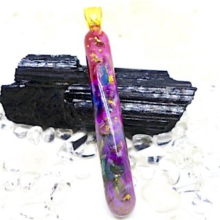 ORGONITE Space Healing Wand Pendant 004