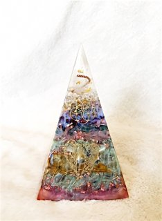 ORGONITE Space Pyramid Object S001