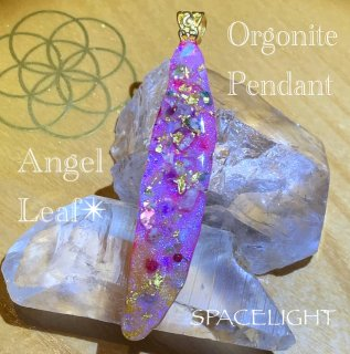 ORGONITE Angel Leaf 001