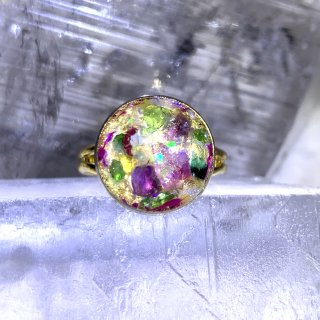 ORGONITE Space Peace Ring 002