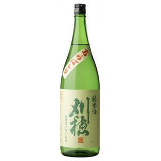 刈穂 新米新酒生あらばしり (カリホ)/秋田清酒 1800ml 【秋田】