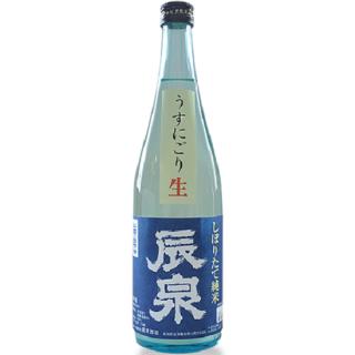 辰泉 しぼりたて純米 うすにごり生 (タツイズミ)/辰泉酒造 1800ml 【福島】