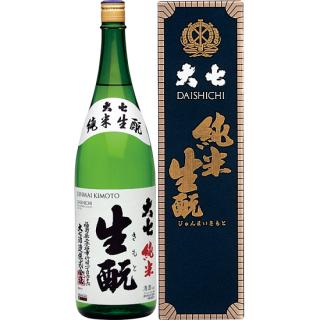 大七 純米生もと酒 (ダイシチ)/大七酒造 1800ml 【福島】