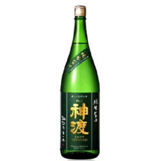 神渡 純米旨口 新酒しぼりたて (ミワタリ)豊島屋 1800ml 【長野県】