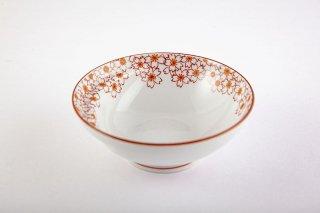 お鍋の取り皿 Cacomi -かこみ - 【花詰・赤】