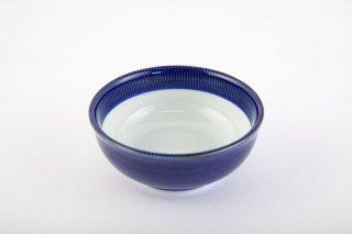 藍濃とび鉋 小鉢