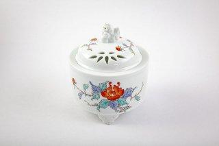 鍋島牡丹絵 香炉